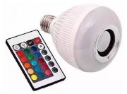 Lâmpada LED RGB Bluetooth Musical