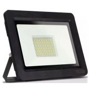 Refletor LED SMD Slim 100W Branco Frio Uso Externo