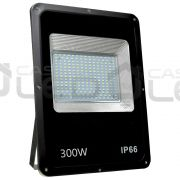 Refletor LED SMD Slim 300W Branco Frio Uso Externo