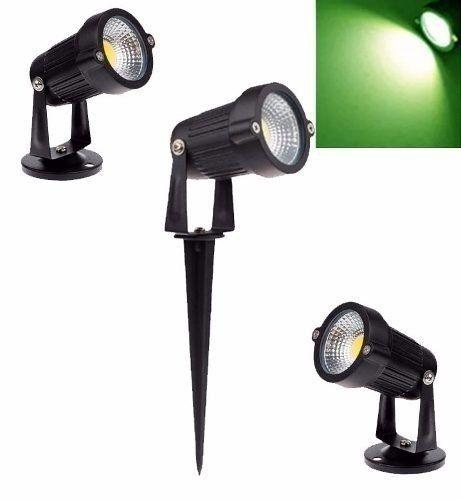 Espeto LED para Jardim 7w Bivolt - Cor Verde
