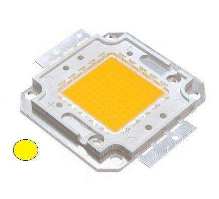 Chip Led 50W - Branco Quente