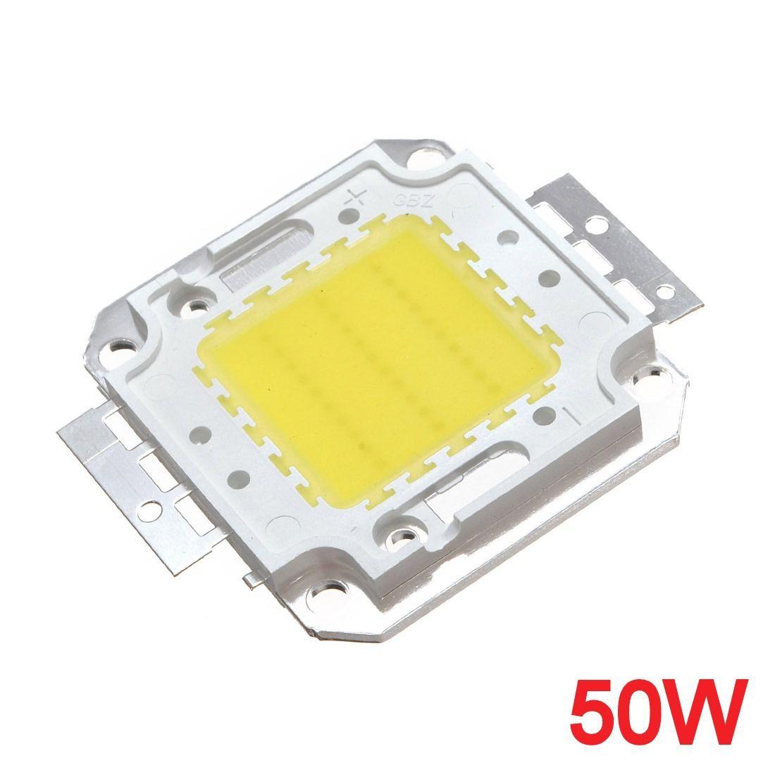 Chip Led 50W - Branco Frio
