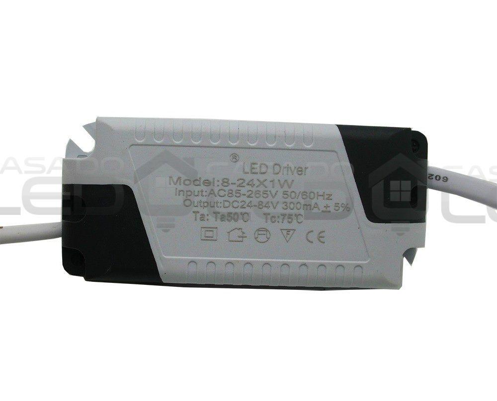 Driver LED Reator Fonte Para Spot / Plafon 18-24w - Bivolt
