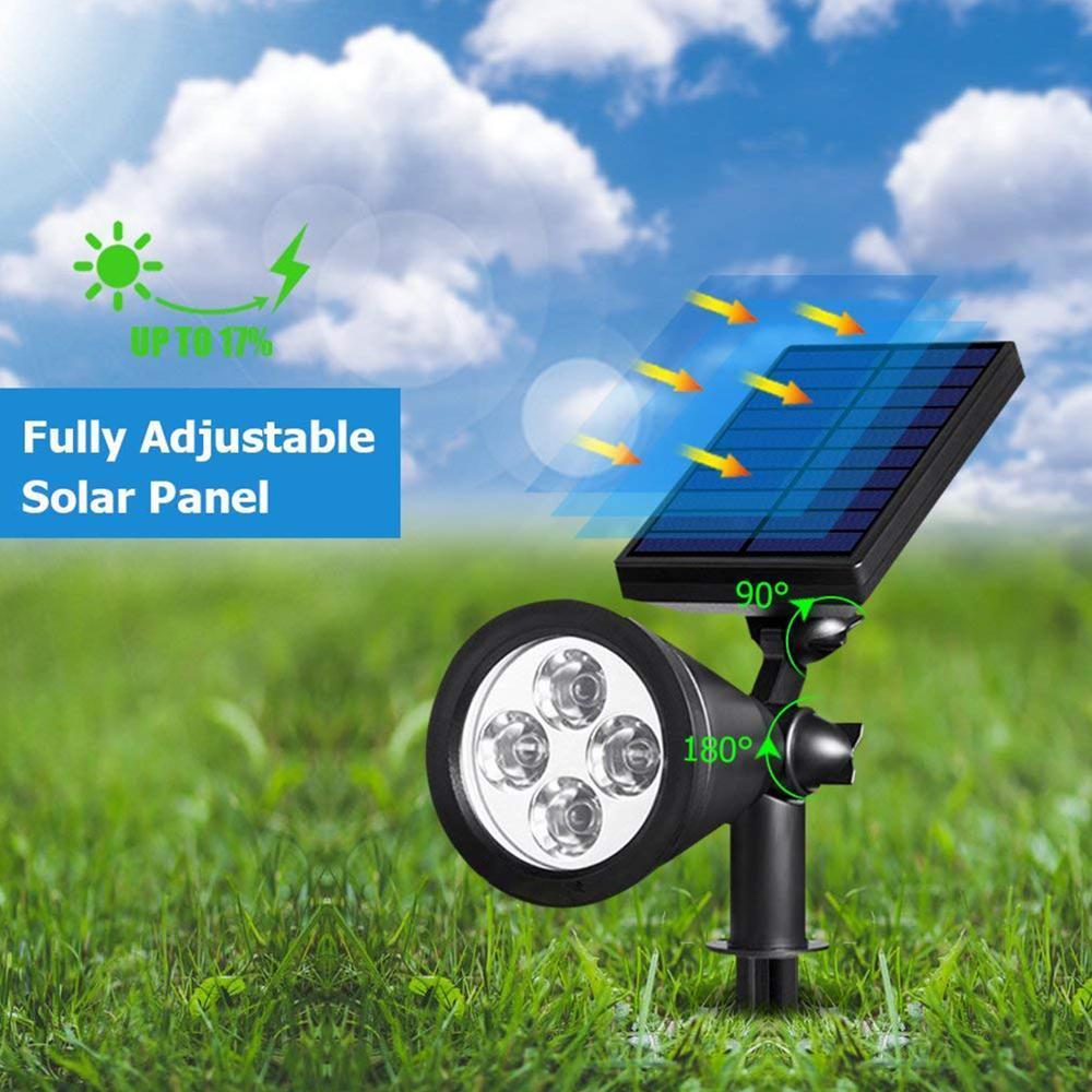 Espeto de Jardim - Placa Solar 3W - 3000K