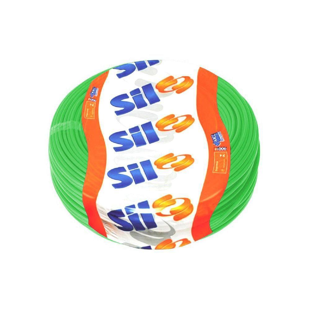 Fio Cabo Flexível Sil 2,5mm VERDE  Rolo 100 Metros