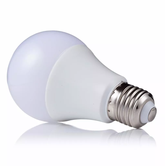 KIT 10 Lampadas LED 9w Bulbo A60 Bivolt Amarela