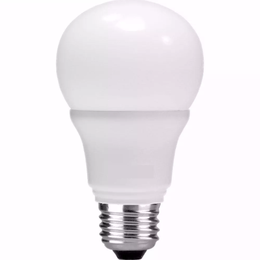 Lampada LED 9w Bulbo A60 Bivolt Amarela