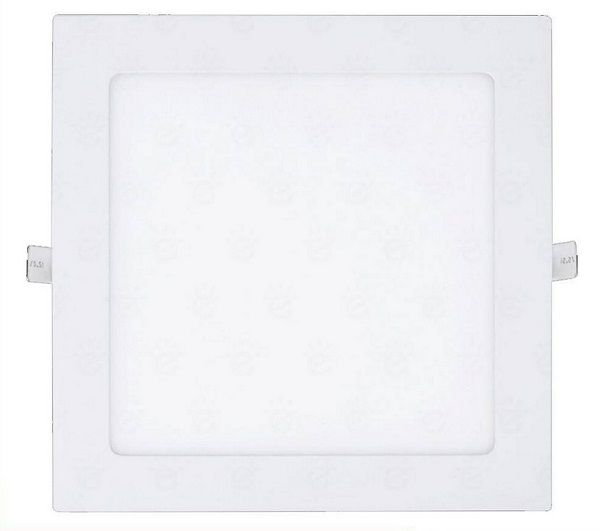 Luminária Plafon LED de Embutir 12w Branco Frio 6000k Quadrado