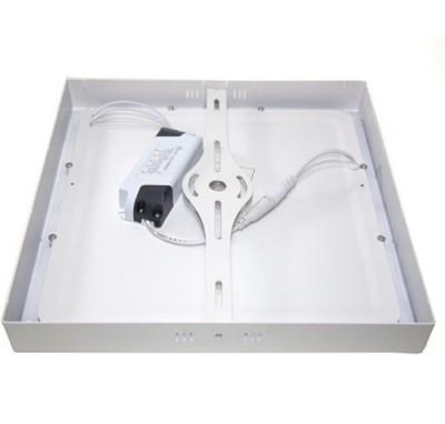 Luminária Plafon LED de Sobrepor 18w Branco Frio 6000k Quadrado
