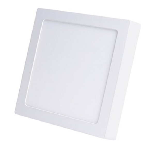 Luminária Plafon LED de Sobrepor 6w Branco Quente 3000k Quadrado