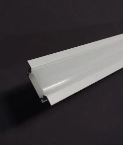 Perfil Canaleta para Embutir Fita de LED Barra com 2 metros (MARCENARIA)