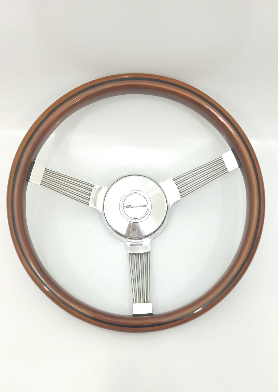 Volante Rosseti Banjo Madeira 350mm