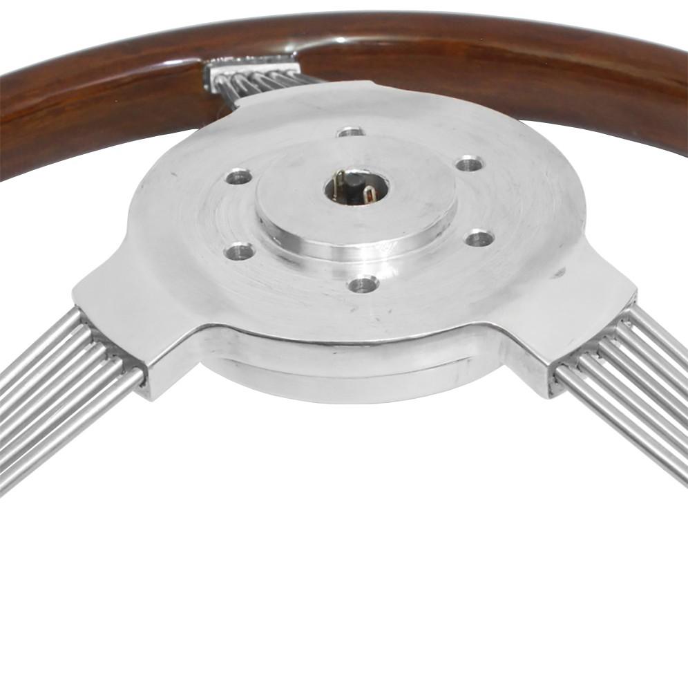 Volante Rosseti Banjo Madeira 390mm