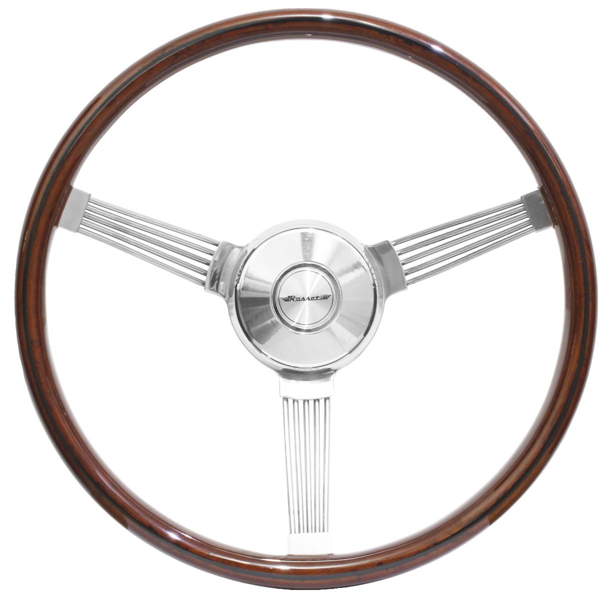 Volante Rosseti Banjo Madeira 385mm