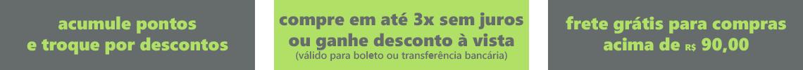 frete grátis acima de r$ 90,00 - parcele em até 3x sem juros!