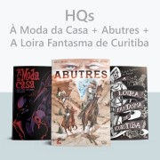 Combo À Moda da Casa + Abutres + A Loira Fantasma de Curitiba