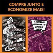 Combo: HQ Loira Fantasma + Livro História dos Quadrinhos e da Gibiteca de Curitiba