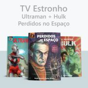 Combo Hulk + Ultraman + Perdidos no Espaço