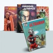 Combo Kung Fu + Hulk + Ultraman + Perdidos no Espaço