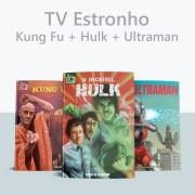 Combo Kung Fu + Hulk + Ultraman (POSTAGEM APÓS 02/07)
