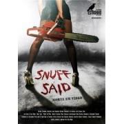 DVD SNUFF SAID / MAL PASSADO