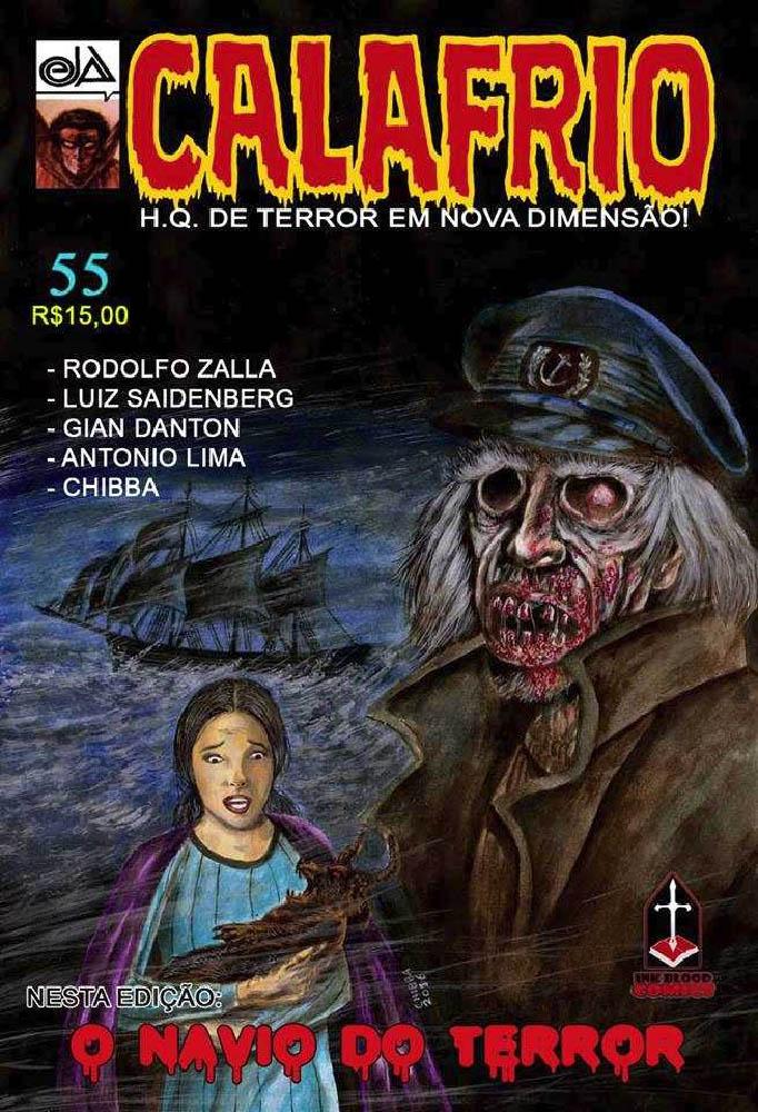 CALAFRIO #55  - Loja da Editora Estronho