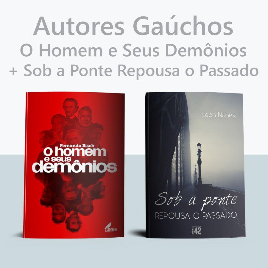 Combo Autores Gaúchos  - Loja da Editora Estronho