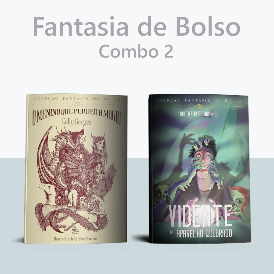 Combo Fantasia de Bolso 2  - Loja da Editora Estronho