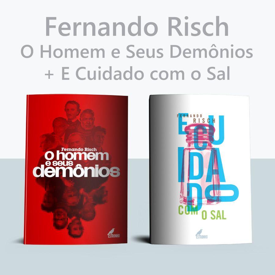 Combo Fernando Risch  - Loja da Editora Estronho