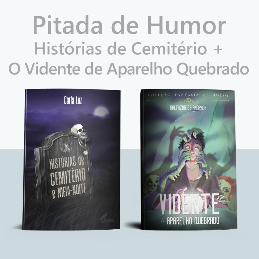 Combo Histórias de Cemitério + O Vidente de Aparelho Quebrado  - Loja da Editora Estronho