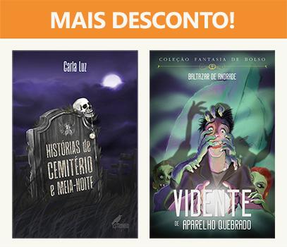 Combo: Histórias de Cemitério + O Vidente de Aparelho Quebrado  - Loja da Editora Estronho
