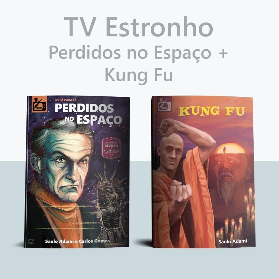 Combo Perdidos no Espaço + Kung Fu   - Loja da Editora Estronho