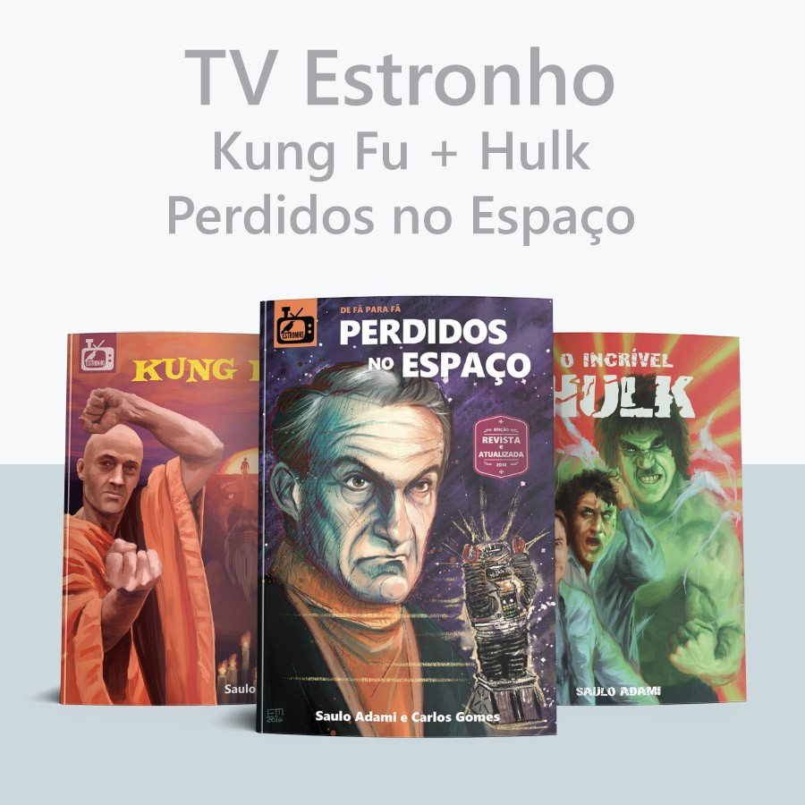 Combo Perdidos no Espaço + Kung Fu + Hulk  - Loja da Editora Estronho