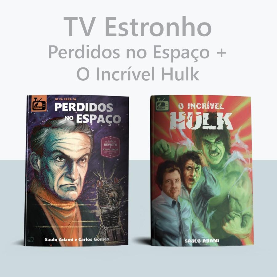 Combo Perdidos no Espaço + O Incrível Hulk  - Loja da Editora Estronho
