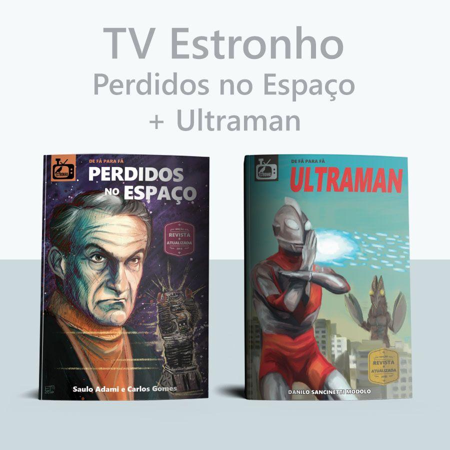Combo Perdidos no Espaço + Ultraman  - Loja da Editora Estronho