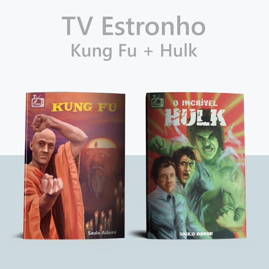 Combo Kung Fu + Hulk  - Loja da Editora Estronho