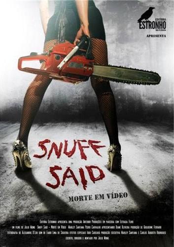 DVD SNUFF SAID / MAL PASSADO  - Loja da Editora Estronho
