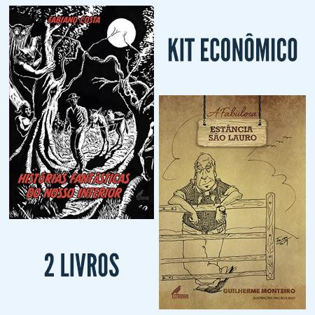 Kit Contos e Causos I  - Loja da Editora Estronho