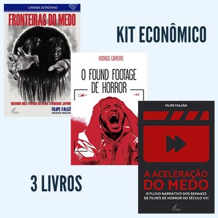 Kit Horror no Cinema III  - Loja da Editora Estronho