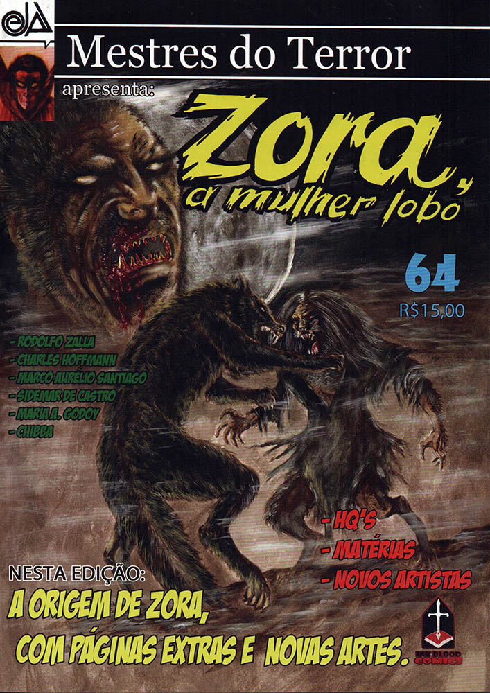 MESTRES DO TERROR #64  - Loja da Editora Estronho