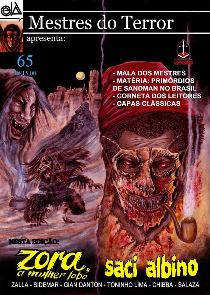 MESTRES DO TERROR #65  - Loja da Editora Estronho