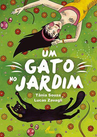 Um gato no jardim  - Loja da Editora Estronho