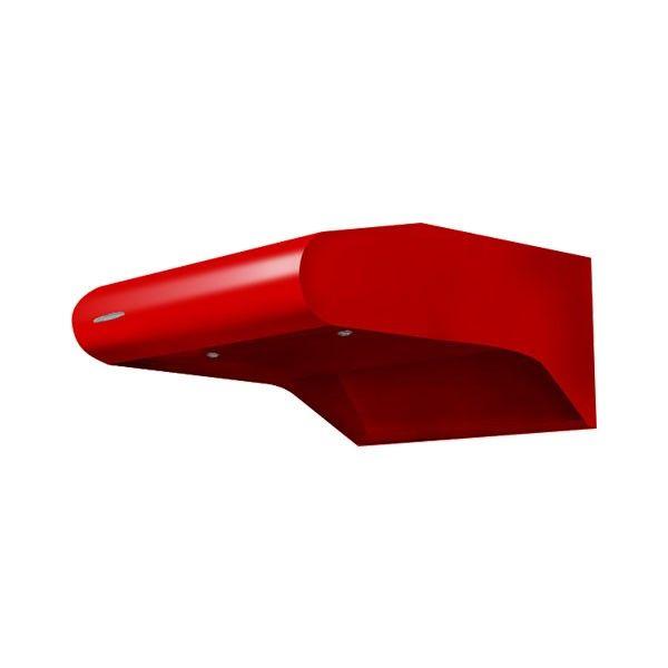 Coifa Arwek Depurador Eletrostática Color 600 Vermelha