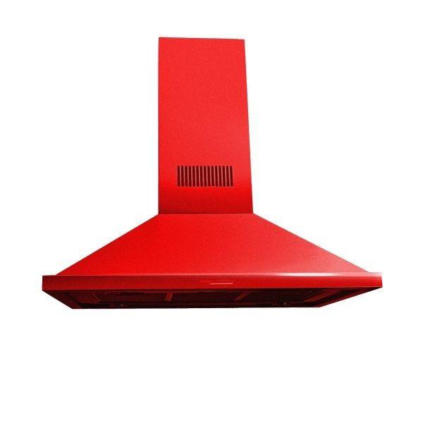 Coifa Arwek Eletrostática Arcádia Color 800 Vermelha
