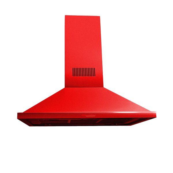 Coifa Arwek Eletrostática Arcádia Color 900 Vermelha