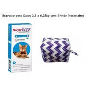 Antipulgas Bravecto Transdermal Gatos 2,8 A 6,25kg Val 12/20