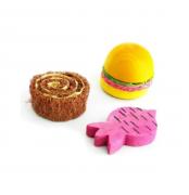 Brinquedo Mordedor para Roedor Madeira e Bucha - Pawise
