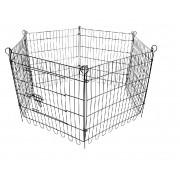 Cerquinha Cercado P/cachorro Coelho Easy Fit 6 Lados American Pets