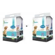 Kit 2 Tapete Higiênico Bamboo Ecológico para Cães 50 Un - Chalesco