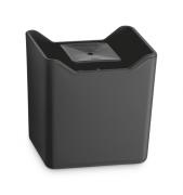 Dispenser Detergente Premium Porta Esponja Preto Fumê Uz